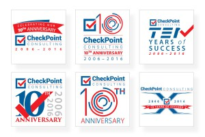 10th-anniversary-logo-options-checkpoint-consulting